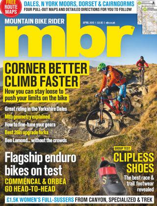 Mountain Bike Rider April 2015