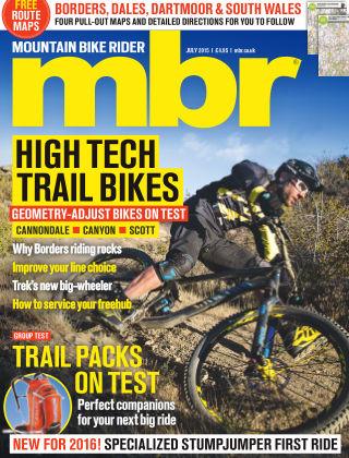 Mountain Bike Rider July 2015