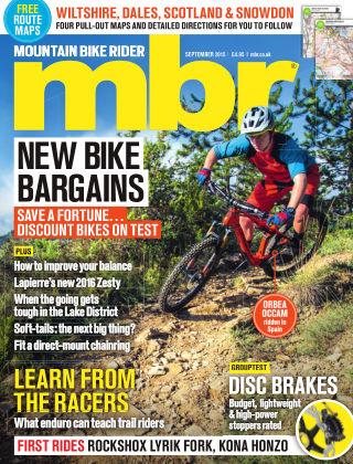 Mountain Bike Rider September 2015
