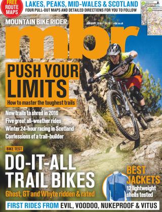 Mountain Bike Rider January 2016