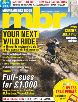 Mountain Bike Rider Summer 2016