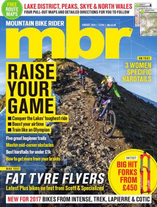 Mountain Bike Rider August 2016