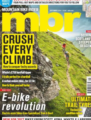 Mountain Bike Rider September 2016