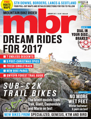 Mountain Bike Rider January 2017