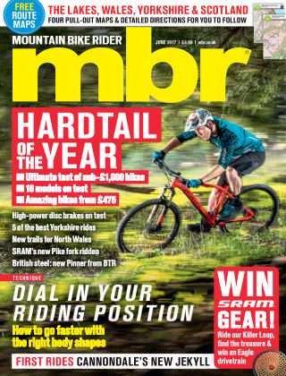 Mountain Bike Rider Jun 2017