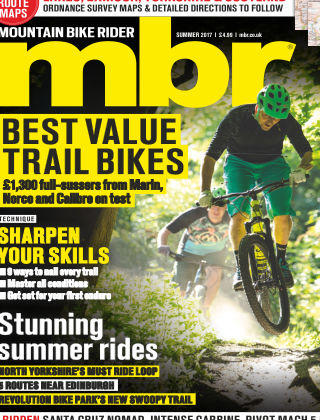 Mountain Bike Rider Summer 2017