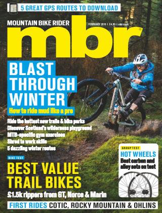 Mountain Bike Rider Feb 2019