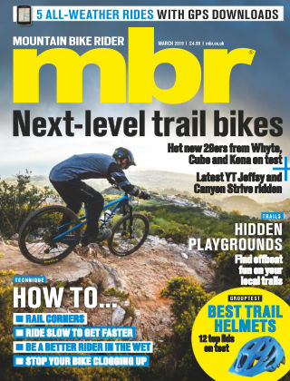 Mountain Bike Rider Mar 2019