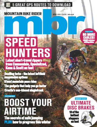 Mountain Bike Rider Apr 2019