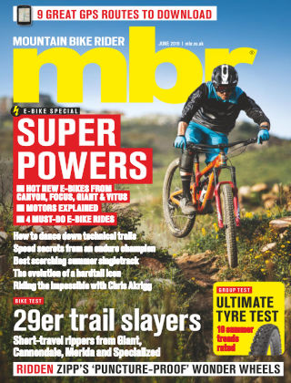 Mountain Bike Rider Jun 2019