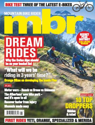 Mountain Bike Rider Aug 2019