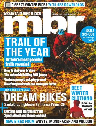 Mountain Bike Rider Jan 2020