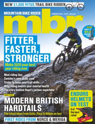 Mountain Bike Rider Feb 2020