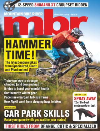 Mountain Bike Rider Mar 2020