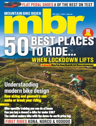 Mountain Bike Rider Jul 2020