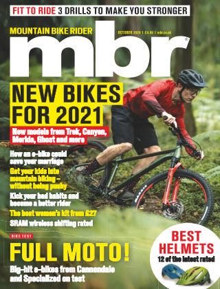 Mountain Bike Rider October 2020