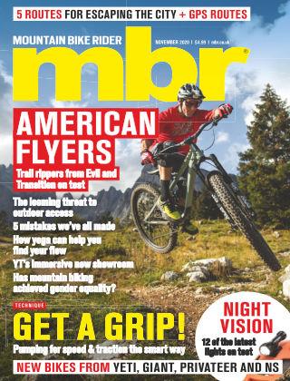Mountain Bike Rider November 2020