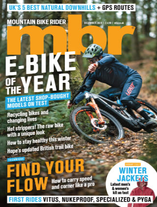 Mountain Bike Rider December 2020