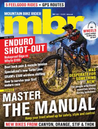 Mountain Bike Rider May 2021