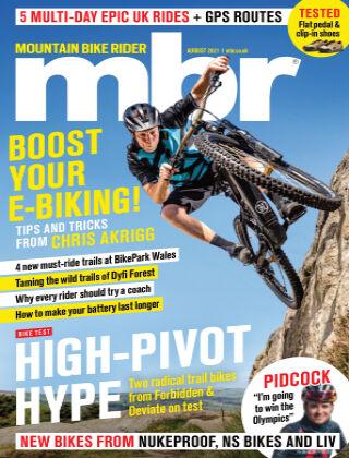Mountain Bike Rider August-21