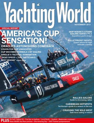 Yachting World November 2013