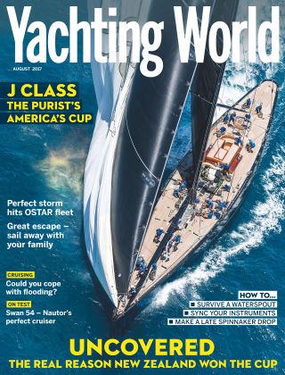 Yachting World Aug 2017