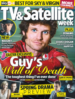 TV & Satellite Week 26th March 2016