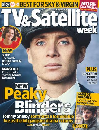 TV & Satellite Week 30th April 2016