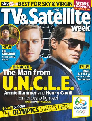 TV & Satellite Week 30th July 2016