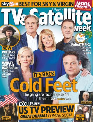 TV & Satellite Week 3rd September 2016