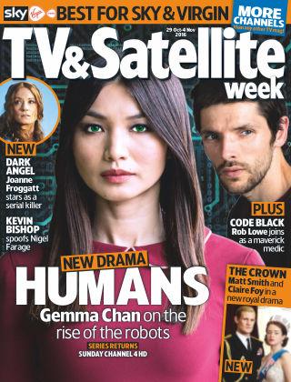 TV & Satellite Week 29th October 2016
