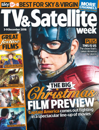 TV & Satellite Week 3rd December 2016