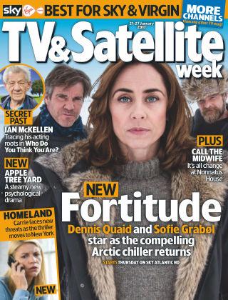 TV & Satellite Week 21st January 2017