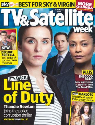 TV & Satellite Week 25th March 2017