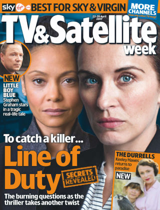 TV & Satellite Week 22nd April 2017