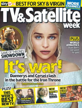 TV & Satellite Week 5th August 2017