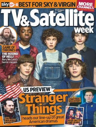 TV & Satellite Week 19th August 2017