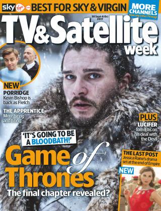 TV & Satellite Week 30th September 2017