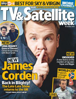 TV & Satellite Week 19th June 2018