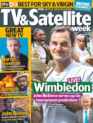 TV & Satellite Week 30th June 2018
