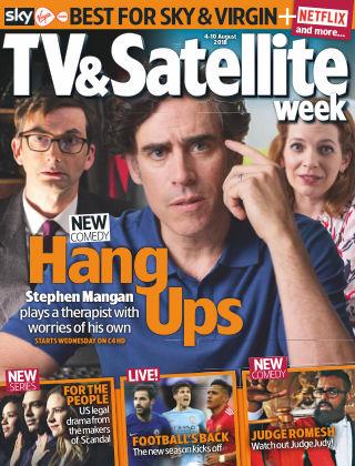 TV & Satellite Week 4th August 2018