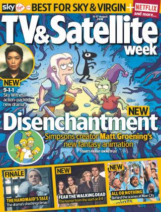 TV & Satellite Week 11th August 2018