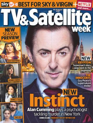 TV & Satellite Week 18th August 2018