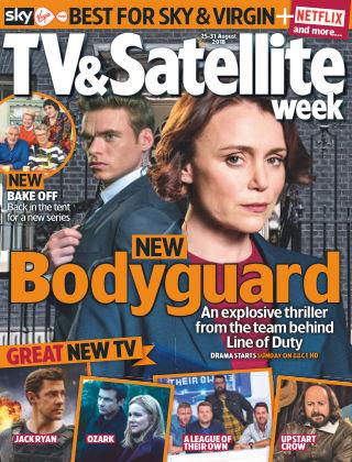 TV & Satellite Week 25th August 2018