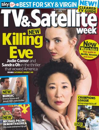 TV & Satellite Week 15th September 2018