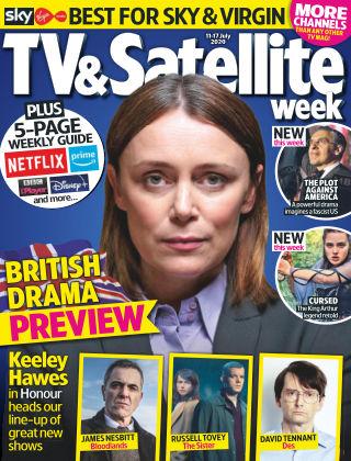 TV & Satellite Week 11th July 2020