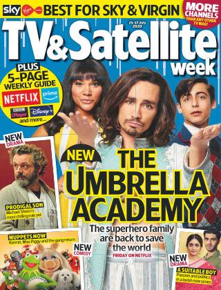TV & Satellite Week 25th July 2020