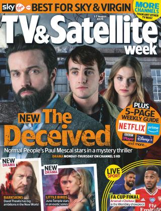 TV & Satellite Week 1st August 2020