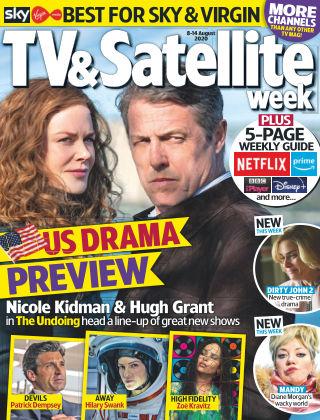 TV & Satellite Week 8th August 2020