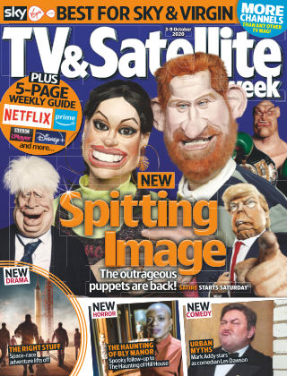 TV & Satellite Week 3rd October 2020